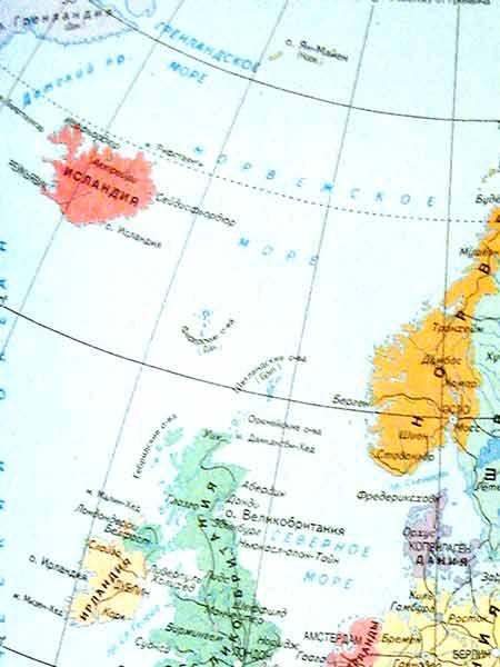 Карта Европы Европа Карта дорог европы Подробная карта европы  Фото Карта Европы