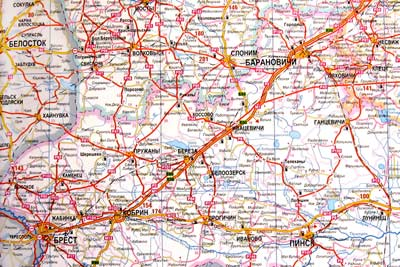 Трасса М1 (отрезок Брест - Барановичи)